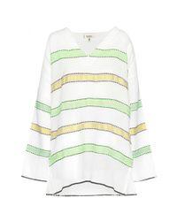lemlem - Multicolor Addis Striped Cotton Dress - Lyst
