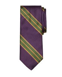 Brooks Brothers - Purple Large Bb#2 Stripe Tie for Men - Lyst