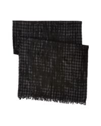John Varvatos | Black Gingham Pigment Print for Men | Lyst