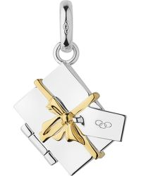 Links of London | Metallic Christmas Envelope Sterling Silver Charm - For Women | Lyst