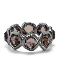 Ippolita - Metallic Wicked Smoky Quartz Band Ring Size 7 - Lyst