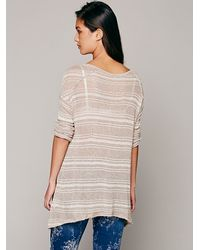 Free People | Pink We The Free Slinky Hacci Swit | Lyst