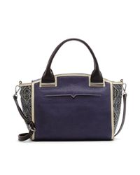 Vince Camuto | Blue Billy Dome Satchel | Lyst