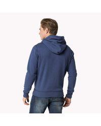 Tommy Hilfiger - Blue Cotton Blend Sweater for Men - Lyst