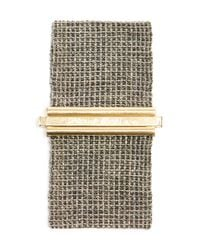 Carolina Bucci - Metallic 18K White Gold And Silk Woven Bracelet - Lyst