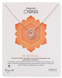 Dogeared | Metallic Be Sensual Chakra Necklace 18 | Lyst