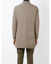 Moncler - Gray 'bent' Padded Coat for Men - Lyst