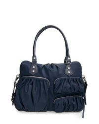 MZ Wallace | Blue 'kate' Bedford Nylon Handbag | Lyst