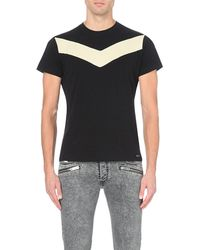 DIESEL | Black T-mayurino-a Cotton T-shirt for Men | Lyst