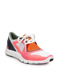 Adidas By Stella McCartney | Pink Alayta Stud Sneakers | Lyst