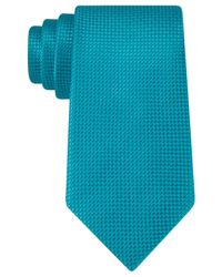 Michael Kors | Blue Rene Semi Solid Tie for Men | Lyst