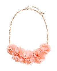 H&M | Pink Flower Necklace | Lyst