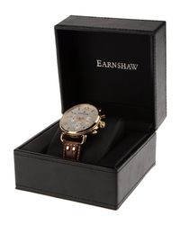 Earnshaw - Brown Wrist Watch - Lyst