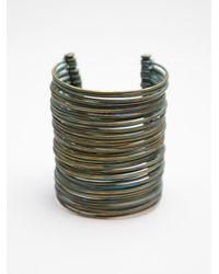 Sibilia - Blue Large Calder Cuff - Lyst