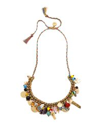 Venessa Arizaga - Multicolor Road Trip Necklace - Multi - Lyst