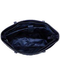 Vera Bradley | Blue Trimmed Vera Laptop Tote | Lyst
