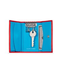 Ralph Lauren - Red Soft Ricky Key Case - Lyst