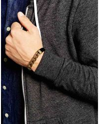 Icon Brand - Black First Chain Bracelet for Men - Lyst
