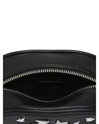 Karl Lagerfeld | Black K Charm Leather Shoulder Bag | Lyst