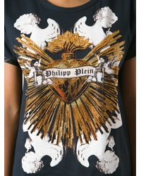 Philipp Plein | Black Katy T-shirt | Lyst