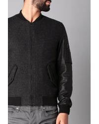SELECTED - Gray Jacket for Men - Lyst