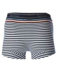 Paul Smith | Blue Striped Boxers for Men | Lyst