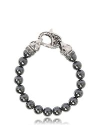 Stephen Webster - Metallic Raven Head Hematite Bracelet - Lyst