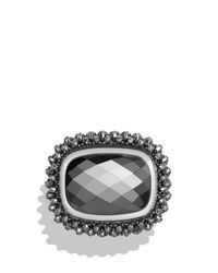 David Yurman | Metallic Osetra Ring With Hematite | Lyst