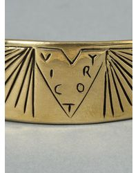 George Frost - Metallic Victory Cuff Brass for Men - Lyst