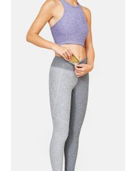 Outdoor Voices | Gray Split Warmup Legging | Lyst