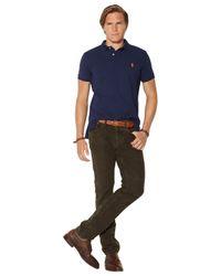 Polo Ralph Lauren | Blue Big And Tall Jersey Logo T-shirt for Men | Lyst