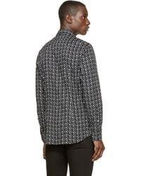 DIESEL - Black Sulf_star Shirt for Men - Lyst