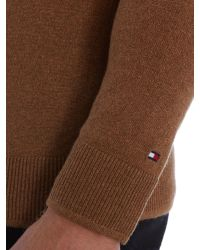 Tommy Hilfiger - Brown Winter Slub Cashmere Top for Men - Lyst