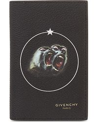Givenchy - Black Twin Monkey Card Holder for Men - Lyst