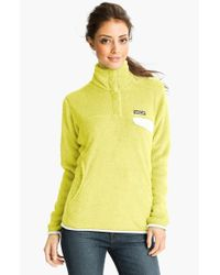 Patagonia - Yellow 're-tool' Snap Pullover - Lyst