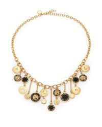 Marc By Marc Jacobs - Black Stardust Charm Necklace - Lyst