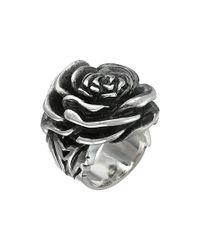 King Baby Studio | Metallic Rose Ring | Lyst