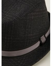 Dolce & Gabbana - Gray Trilby Hat for Men - Lyst