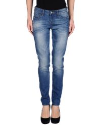 Miss Sixty - Blue Denim Trousers - Lyst