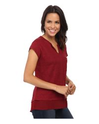 Sanctuary - Red City Mix Tee - Lyst