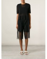 Phoebe English - Black Simple Tshirt - Lyst