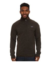 Patagonia | Brown Better Sweater Jacket for Men | Lyst