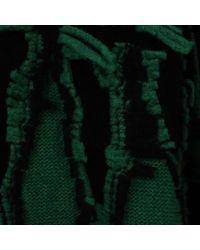 Stella McCartney - Green Cut Shibori Jumper - Lyst