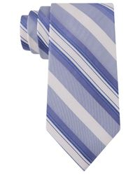 Calvin Klein | Blue Sunrise Multi-stripe Slim Tie for Men | Lyst