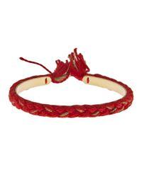Aurelie Bidermann   Red Copacabana Bracelet   Lyst