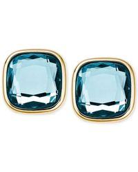 Michael Kors | Metallic Crystal Stud Earrings | Lyst