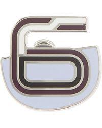 Proenza Schouler - Multicolor Number 6 Enamelled Brass Pin - For Women - Lyst