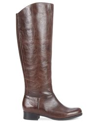 Me Too - Brown Shoes Astor Tall Riding Boots - Lyst