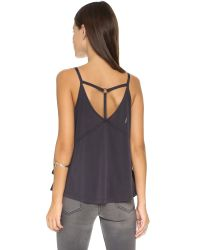 Free People - Babe Town Tank - Black - Lyst
