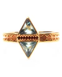 Katie Diamond Jewelry | Metallic Tessa Ring | Lyst